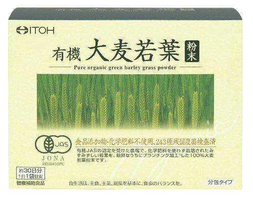 井藤 有機栽培大麦若葉 3g×30袋