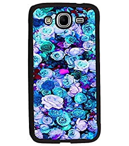 PrintDhaba Flowers D-2088 Back Case Cover for SAMSUNG GALAXY MEGA 5.8 (Multi-Coloured)