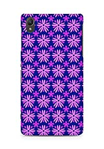 Amez designer printed 3d premium high quality back case cover for Sony Xperia Z2 (Flower Pattern3)
