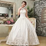 Dayday@wedding Dress 2013 Latest the Princess Sweet High-end Fashion Hot Hole Bridal Halter Wedding