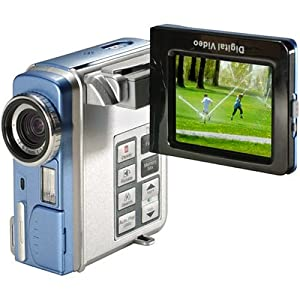 Mustek DV5500 MPEG-4 7-in-1 Multifunctional Digital Camcorder w 2.5-inch LCD and 4x Digital Zoom by Mustek
