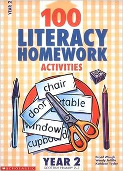 100 literacy homework activities year 1