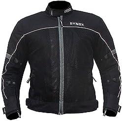 Rynox Air GT Riding Jacket (Grey and Black, Medium)