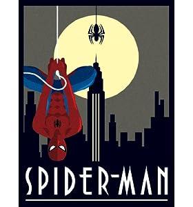 Marvel Comics Spiderman Deco Canvas Print 30 x 40cm