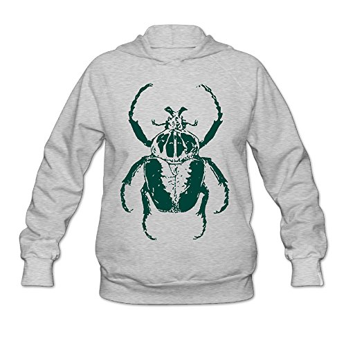 beetle-store112-ragazze-felpa-con-cappuccio-appreal-slim-fit-awesome-good-ash-xx-large