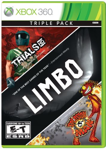 3 Pack - Limbo, Trials Hd, Splosion Man - Xbox 360 front-598016