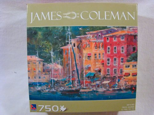 James Coleman 750 Piece Jigsaw Puzzle: Day's End