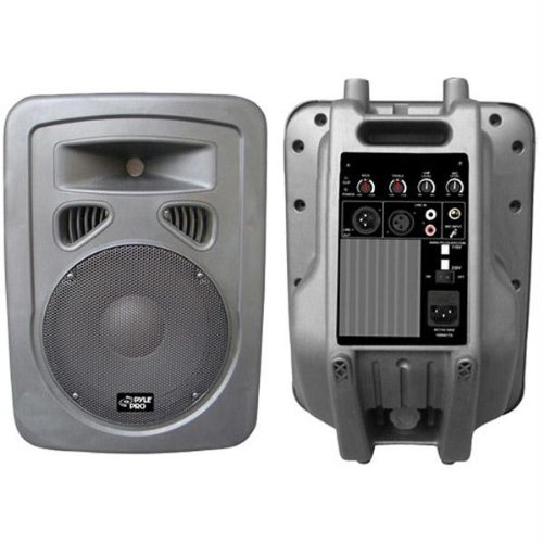 Pyle-Pro Pphp898A 400 Watts 8'' 2-Way Plastic Molded Powered/Amplified Speaker System