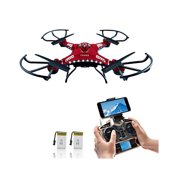Drone-with-HD-Camera-Potensic-F183W-4CH-Six-Axis-RC-Quadcopter-Drone-2MP-Camera-Helicopter-FPV-24GHZ-Phone-Quadcopter-with-WiFi-360-Degree-Rollover