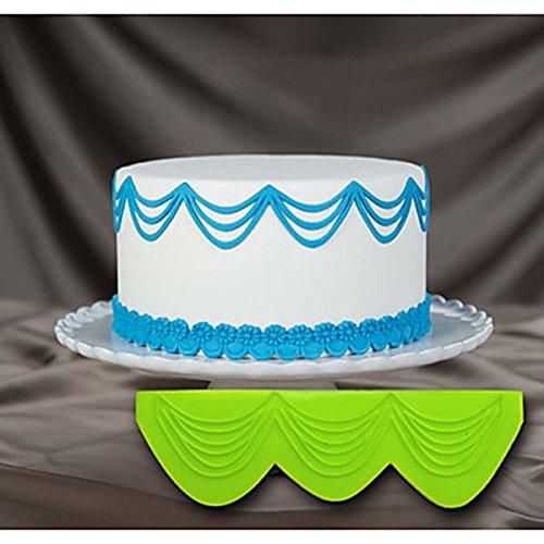 Bluelover Dentelle Moule silicone Moule à gâteau pâtisserie Outils Accessoires de cuisine