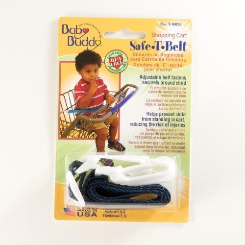 Baby Buddy Shopping Cart Safety Belt, Navy