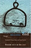 Means Without End: Notes on Politics (Theory Out Of Bounds) (0816630364) by Agamben, Giorgio