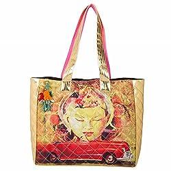 The House of tara Women's Handbag (Multi Colour)