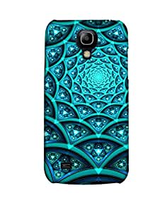 Pick Pattern Back Cover for Samsung I9190 Galaxy S4 mini (MATTE)
