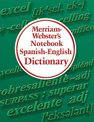 Merriam-Webster's Notebook Spanish-English Dictionary (Spanish Dictionary Electronic compare prices)