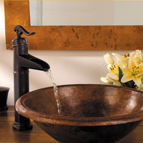 waterfall faucets for bathroom sinks