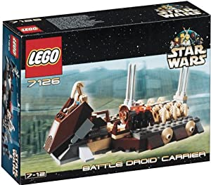 LEGO Star Wars 7126: Battle Droid Carrier