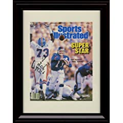 Framed Phil Simms Sports Illustrated Autograph Print - New York Giants Win Super Bowl... by Framed Sport Prints