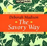 The Savory Way Recipeasel (0811816192) by Madison, Deborah