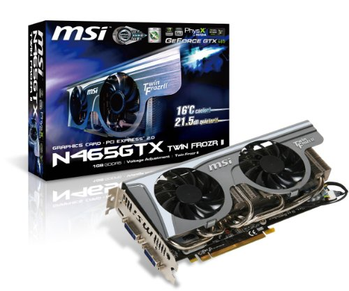MSI N560GTX-Ti Twin Frozr II GeForce GTX 560 Ti (Fermi) 1GB 256-bit GDDR5 PCI Express 2.0 x16 HDCP Ready SLI Support Video Card (560 Ti Msi compare prices)