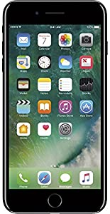 Apple iPhone 7 Plus Unlocked Phone 128 GB - US Version (Jet Black)