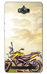 bike Designer Printed Back Case Cover for Asus Zenfone Max ZC550KL