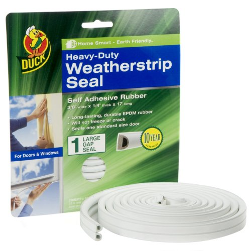 duck-brand-282433-heavy-duty-self-adhesive-rubber-weatherstrip-seal-for-large-gap-3-8-inch-x-1-4-inc