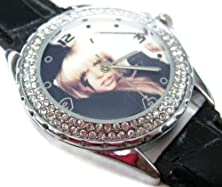 buy Happy New Year Gifts Usfs132 New Leather 118 Pcs Diamond Crystal Watch / Lady Gaga