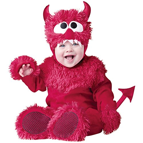 InCharacter Baby Boy's Devil Costume, Red, Small