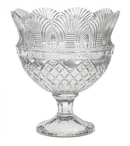 Godinger Coquille Crystal Pedestal Bowl