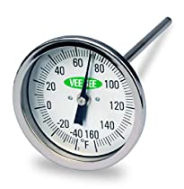 Vee Gee Scientific 82160-6 Dial Soil Thermometer, 6