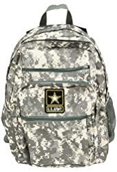 Official US Army Strong Military Backpack Bag Digital Camouflage Camo Print