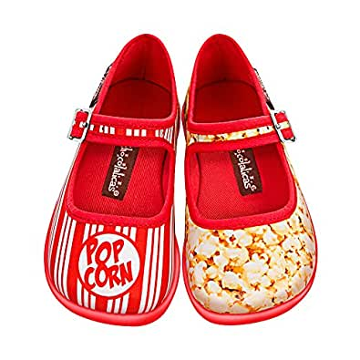 hot chocolate design mini chocolaticas popcorn girls mary jane flat shoes. Black Bedroom Furniture Sets. Home Design Ideas