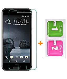 VJOY Antishock Tempered Glass Screen Protector for HTC One A9 and (Single Front Transparent Screen Protector) Freebies Offer : The Great Grand Diwali Deal (Get a VJOY 5200 mAh Power-Bank GREEN) (1 Year Replacement Guarantee, Li-ion Battery, Long Battery-Life) worth Rupee 1599/- absolutely free with Screen Protector)