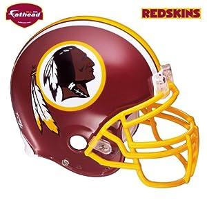 Fathead Washington Redskins Helmet Wall Decal by Fathead