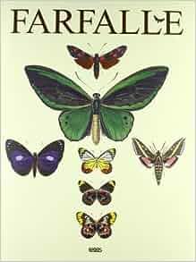 Farfalle. Ediz. italiana, inglese, tedesca e spagnola