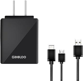 Gooloo USB Travel Charging Set