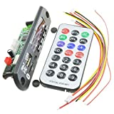 SODIAL(R) Wireless Bluetooth 12V MP3 WMA Decoder Board Audio Module USB TF Radio For Car