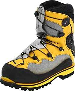 La Sportiva Spantik Mountaineering Boot - Men's Yellow/Grey 38