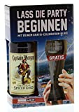 Captain Morgan - Original Spiced Gold Rum 35% - 0,7l inkl. Glas