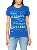 Lee Camiseta Manga Corta Slim Tee Night (Azul)