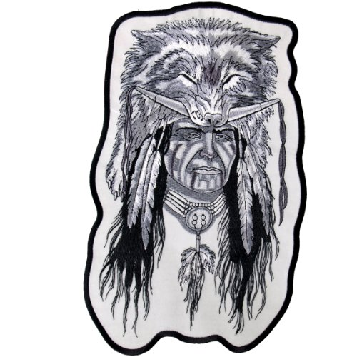 Hot Leathers Indian Warrior Patch (3