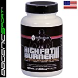 "High FatBurner III - St�rkstes Fett-Metabolisierendes Di�t- / Definitionssupplement (ein original US-Import Produkt) -von ""BBGenics"""