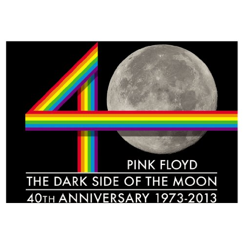 Licenses Products Pink Floyd TDSOTM Moon Magnet - 1