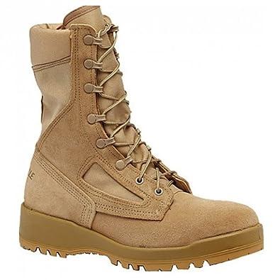 Belleville 390DES Men's 8-in Combat Tactical Boot Tan 3 N US