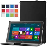 MoKo Slim-fit Cover Case for SAMSUNG ATIV Smart PC Pro 700T 11.6 Inch Windows 8 Pro tablet, Black