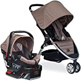 Britax B-Agile 3/B-Safe 35 Travel System, Sandstone (Prior Model)