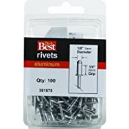 Do it Best Global Sourcing381675Do it Best POP Rivets-1/8X1/4 ALUM RIVET