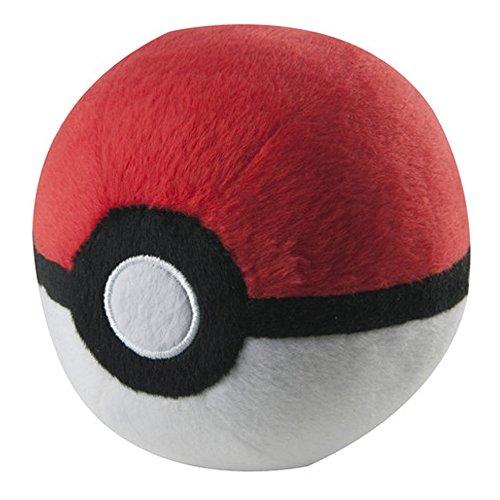 Pokemon Poké Ball, di peluche, colore: bianco