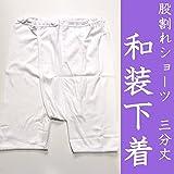 着物・和装ショーツ 三分丈パンツ 股割れタイプ2サイズ/L